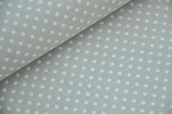 Webware gepunktet - Ponto, grau/weiß