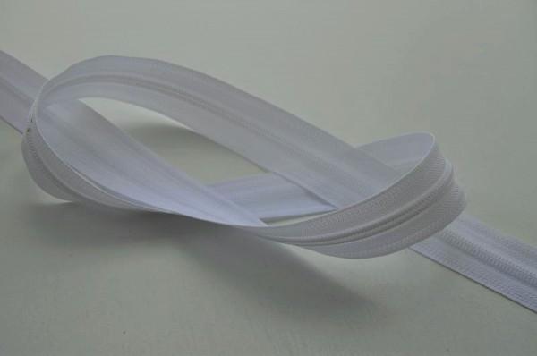 YKK Reißverschluss Meterware - weiß