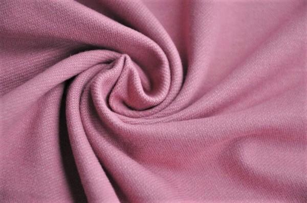 Jersey - Jeansoptik, dark rosé