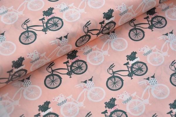 Art Gallery Fabrics - Printemps, Fietsen