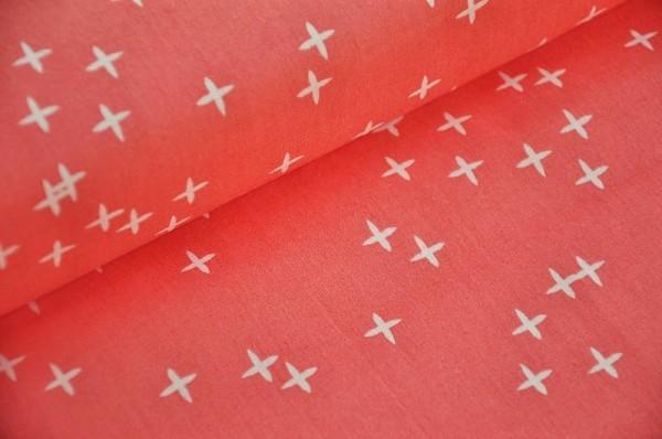 Birch Fabrics Popeline - Wink Coral