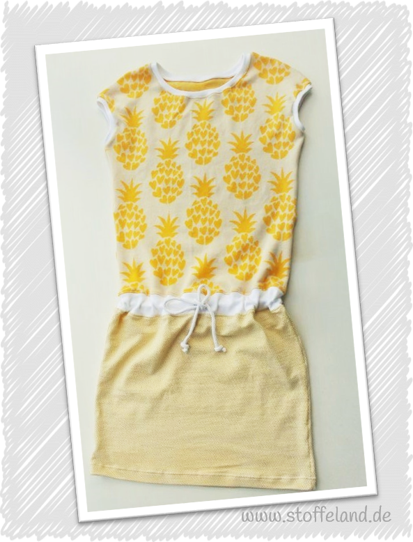 Strandkleid-Pineapple