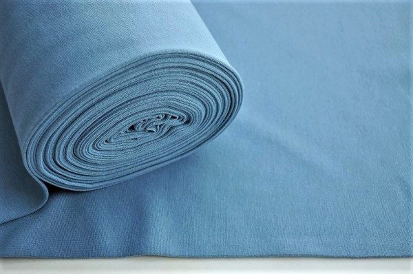 Bio Bündchen - glatt denim blau