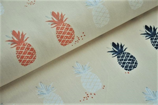 Canvas - Ananas, cream