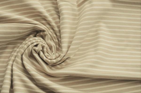Hilco Jersey Campan - beige/weiß