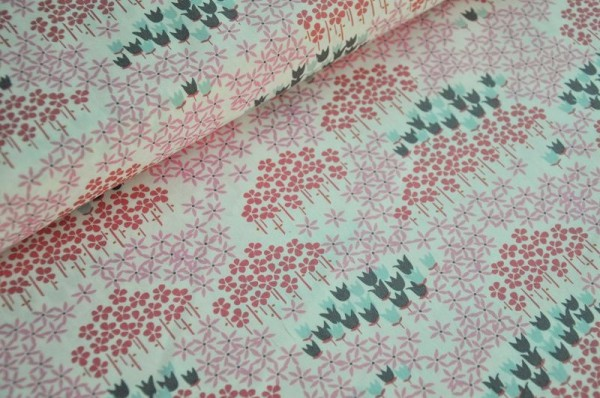 Webware - Art Gallery Fabrics - Frühlingsstoff, Blumen, 100% Baumwolle