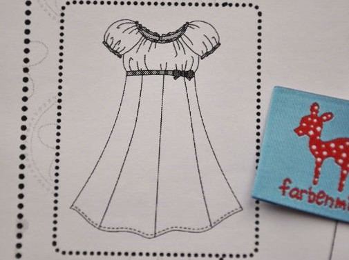 Farbenmix Schnittmuster Kleid Elodie