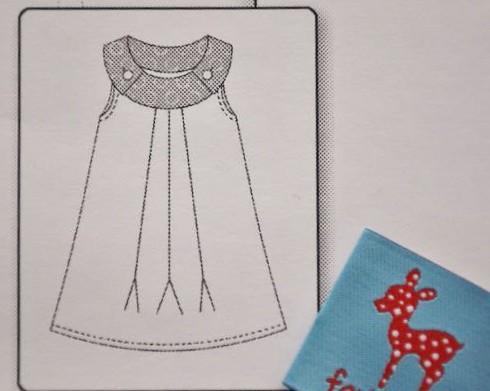 Farbenmix Schnittmstuer Kleid Oda