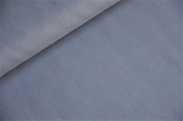 Bio Voile - uni, flint stone/grau - 100% Baumwolle - Bio Webware