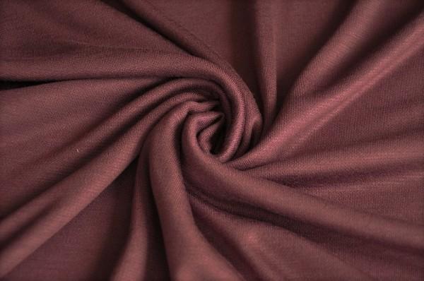 Jersey - Viscose Lux Interlock, grape - 96% Viskose, 4% Elasthan