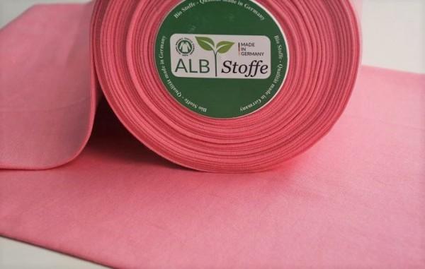 Bio-Bündchen glatt - rosa