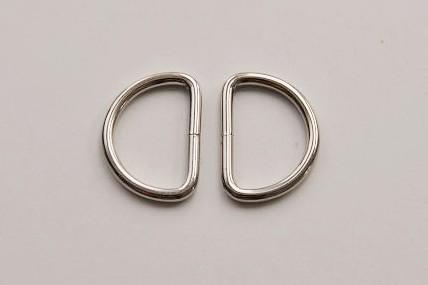 2er Pack D-Ringe