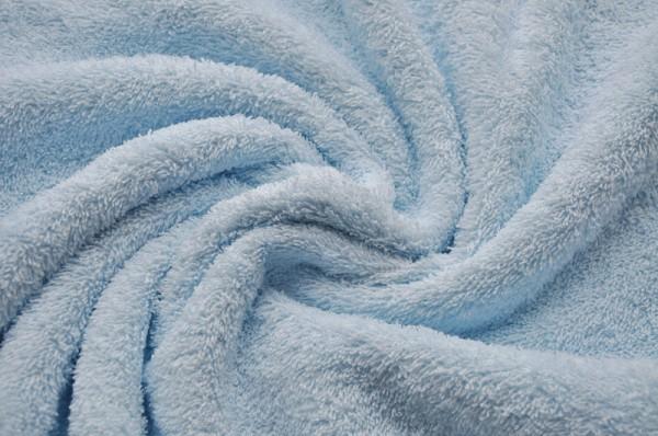 Frottee Irmel hellblau