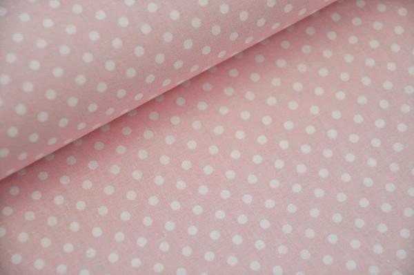 Webware gepunktet - Ponto, rosa/weiß
