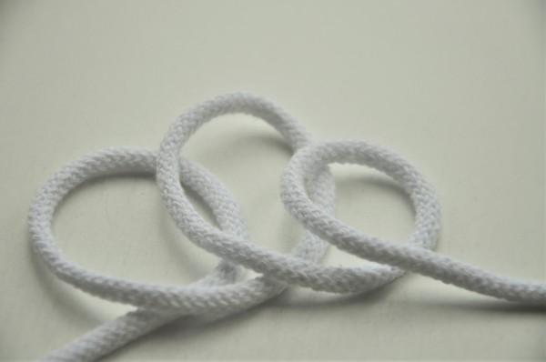 Baumwollkordel - 6mm weiß