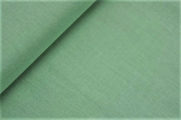 Webware - Tilda - uni, fern green - 100% Baumwolle
