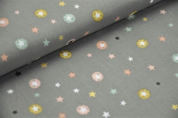 Weihnachtsstoff - X-Mas, Stars