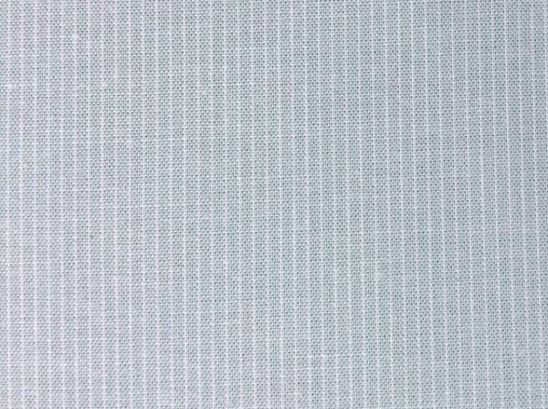 Bio-Popeline - Webstreifen Leinenoptik, cloud blue