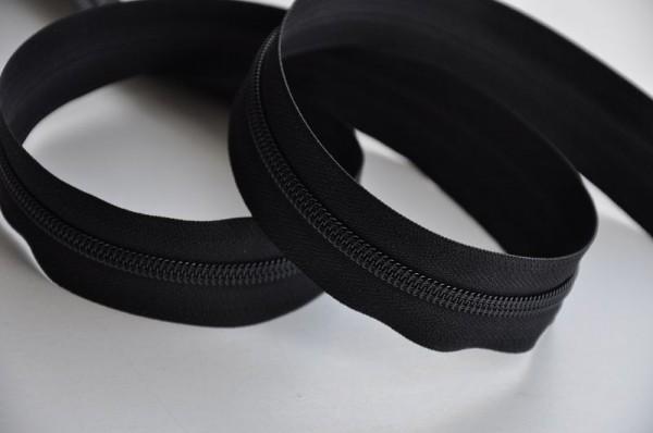 YKK Reißverschluss Meterware - schwarz