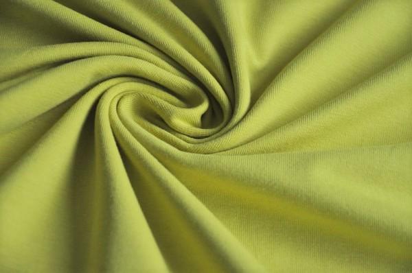 Jersey, Hilco, uni, einfarbig, lime, gelbgrün, Stoffe, Oeko Tex Standard 100, Meterware