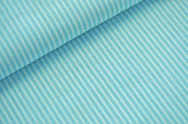 Webware gestreift - Raya, hellblau/weiß