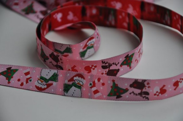 Webband Jule rosa