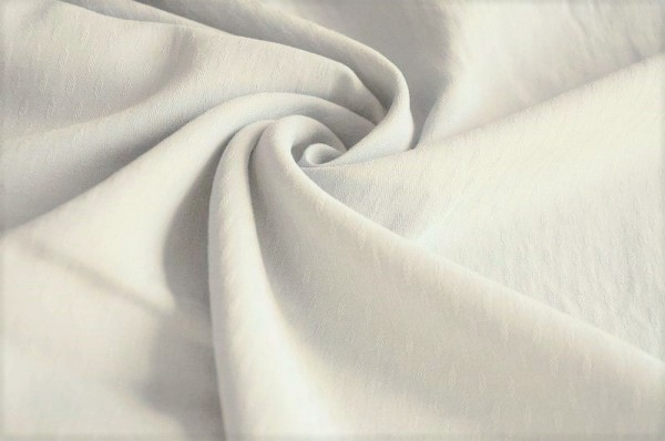 Webware - Light Diamond Jacquard - bright white - 100% Tencel - nachhaltige Stoffe, Blusenstoff