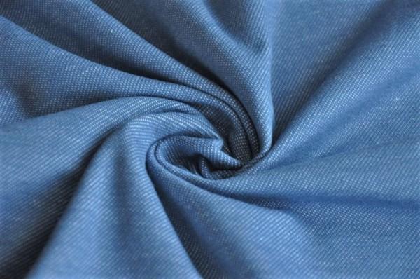 Bio Jersey - Jeansoptik, denim blau