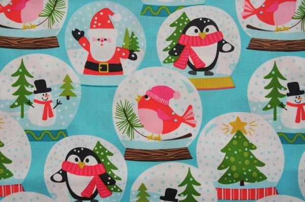 Weihnachtsstoff - Christmas Carolers