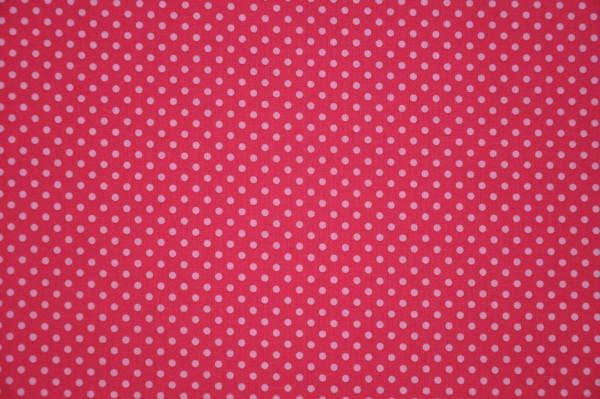 Punkte - pink, 100% BW