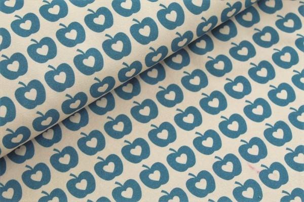 Bio Jersey - Apple Liefde, blau