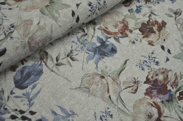 Hilco Sweat - Esperanca - Blumen, grau