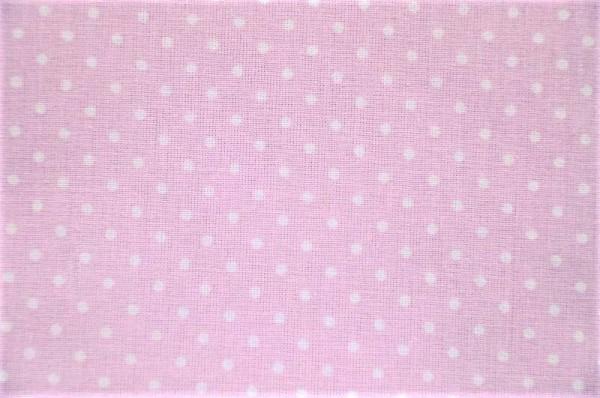 Plumetis mauve - kleine Punkte rosa