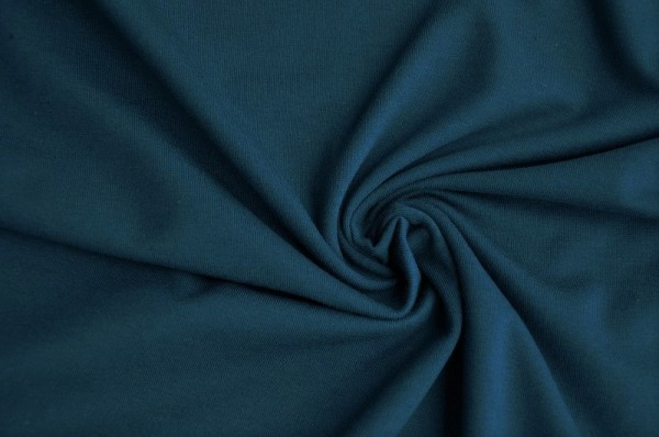 Bio-Jersey - uni, dunkelblau