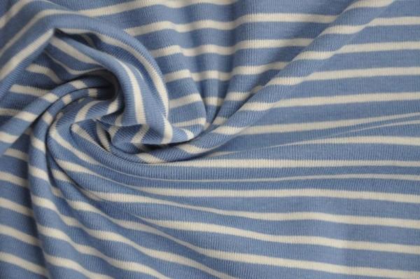 Hilco Jersey Campan - blau/weiß - Ringeljersey