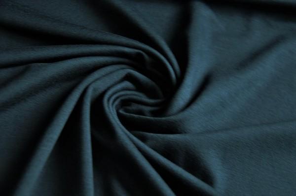 Tencel Stretch Jersey - uni, marine - 96% Tencel, 4% Elasthan, meetMilk, nachhaltige Stoffe, dunkelblau