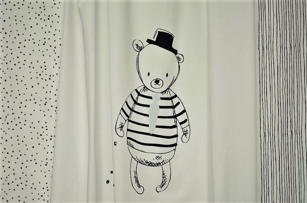 Capsules - Nest - Sir Bear Panel - 100% Baumwolle
