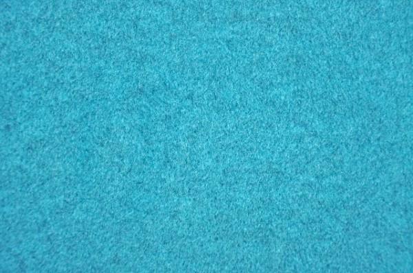Hilco Fleece - petrol-melange, 100% Polyester