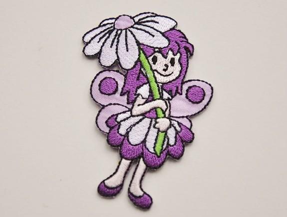 MD Aufbüglemotiv - kleine Blumenfee
