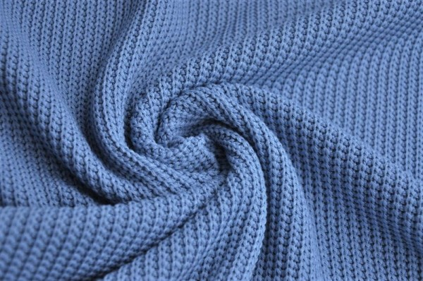 Strickstoff - pastelblau