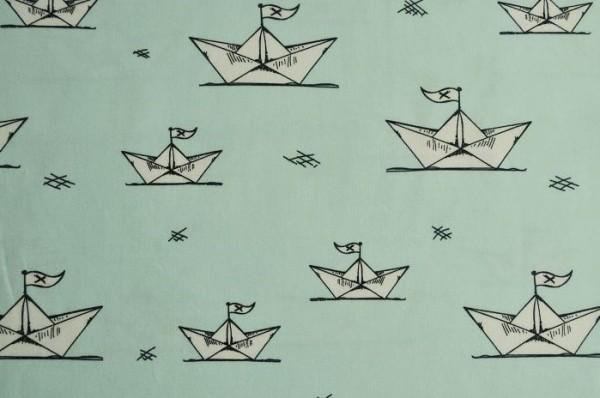 Bio-Jersey Paper Boats