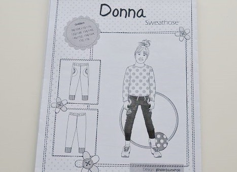 "Schnittmuster farbenmix - Sweathose ""Donna"""
