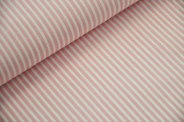 Webware gestreift - Raya, rosa/weiß