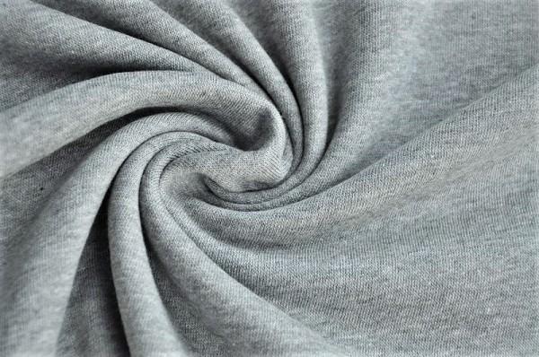 Bio Kuschelsweat - grau meliert