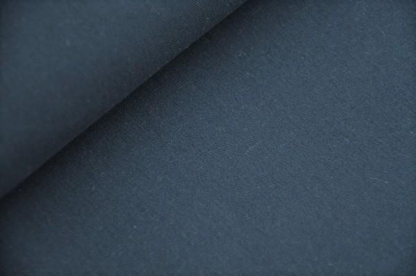 Hilco Easy Cotton - uni marine, 100% Baumwolle, Gabardine, Webware, Meterware