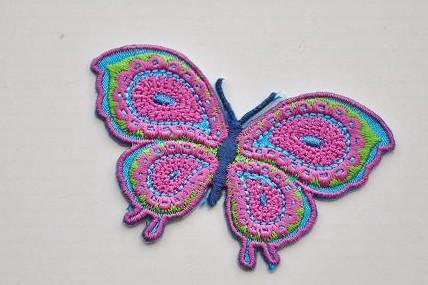 Aufbüglemotiv Schmetterling