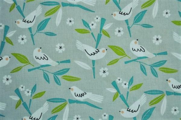 blend fabrics - Panda--rama, Love Bird