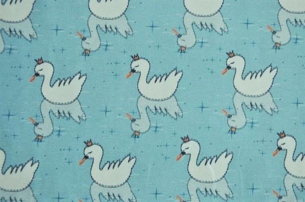 Hilco Jersey - Winter Swan, blau