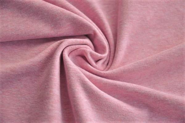 Bio Jersey - uni, rosa-meliert