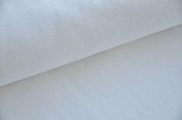 Hilco Bündchenstrick weiß